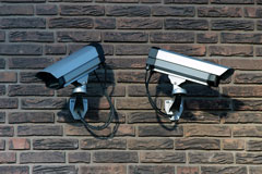 commercial surveillance equipment - security cameras
